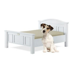 Classic Paws Tyson Furniture-Style Pet Bed Collection - White Finish - Your pet wants to sleep in style just as much as you do. Satisfy both of your style needs with the Classic Paws Stephanie Tyson Furniture-Style Pet Bed Collection – White Finish. It's made from quality hardwoods and veneers to withstand years of pet abuse and look great doing it.About Classic Paws:Classic Paws has a simple mission - to offer you and your pet buddies fun and innovative ideas, creative and comfy solutions, and ultimately bring great enjoyment to your living spaces and environment.