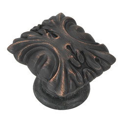 """Hickory Hardware - Ithica Vintage Bronze Cabinet Knob, 1 5/16"""" - Classic lines, finishes and styles create a warm and comforting feel. Usually 18th-century English, 19th-century neoclassic, French country and British Colonial revival. Use of classic styling and symmetry creates a calm orderly look."""