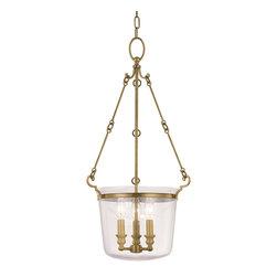 Hudson Valley Lighting - Hudson Valley Lighting 131-AGB Quinton Aged Brass Pendant - Hudson Valley Lighting 131-AGB Quinton Aged Brass Pendant