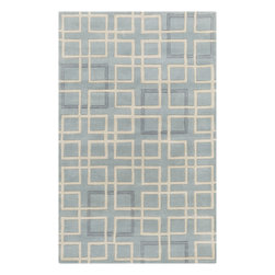 Surya - Hand Tufted Artist Studio Wool Rug ART-238 - 5' x 8' - Hand Tufted Artist Studio Wool Rug ART-238.