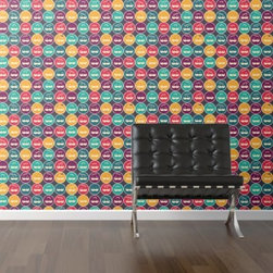 WallsNeedLove Even More Mustaches Self-Adhesive Wallpaper - The WallsNeedLove Even More Mustaches Self-Adhesive Wallpaper provides a colorful accent ideal for the facial hipsters at heart. By peeling and sticking to any wall, this wallpaper is perfect for any room due to its water resistance. The fab-tac adhesive vinyl construction allows installation and removal quick and easy that is mess and hassle free.About Walls Need LovePeel. Stick. Repeat. Walls Need Love started in 2009. They are a small company filled with people-loving sticker fiends. Walls Need Love wants to make your house the stylish dream home you've always wanted and do it with easy-to-use vinyl wall decals. Walls Need Love has been featured in Better Homes and Gardens, Good Housekeeping, USA Today, Fab, and Apartment Therapy.