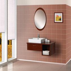Dreamline Wallmount Bathroom Vanity DLVRB-134 - PRODUCT SPECIFICATIONS