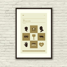 THE PRINCESS BRIDE Inspired Art Print Movie by CONCEPCIONSTUDIOS