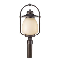 """Murray Feiss - Murray Feiss OLPL7508 Mc Coy 23"""" High 1 Light Fluorescent Outdoor Post Lantern - The Mc Coy Collection of outdoor lights offer a simple and comfortable style combined with superior materials and craftsmanship that will provide safety and illumination for many years.Features:"""