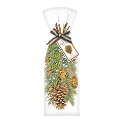 Hanging Pine Towel, Set of 2