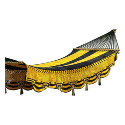 Canary - This canary hammock is very nice for homedecor or patio furniture haves very beautiful colors