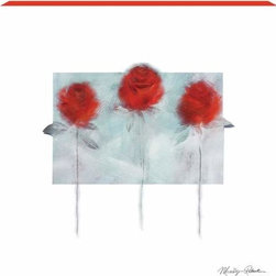 WL - 15 x 15 Inch Three Flowers Wall Art Painting with Long Stem Red Roses - This gorgeous 15 x 15 Inch Three Flowers Wall Art Painting with Long Stem Red Roses has the finest details and highest quality you will find anywhere! 15 x 15 Inch Three Flowers Wall Art Painting with Long Stem Red Roses is truly remarkable.