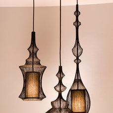 Contemporary Pendant Lighting Moire Cluster