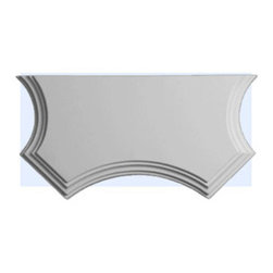 """Inviting Home - Display Shelf - Display shelf for decorative corbels 3/4""""H x 15-5/8""""W x 8""""D Display shelf for decorative corbels comes factory primed and is suitable for painting glazing or faux finish. This display shelf is manufactured from high density furniture grade polyurethane material that is water and heat resistant impervious to insect infestation and odor free. Display shelf is made to be used with any of our decorative corbels."""