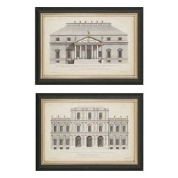 Paragon Art - Paragon Vintage Facade I ,Set of 2 - Artwork - Vintage Facade I ,Set of 2     ,  Paragon Giclee               Artist is Hulsbergh , Paragon has some of the finest designers in the home accessory industry. From industry veterans with an intimate knowledge of design, to new talent with an eye for the cutting edge, Paragon is poised to elevate wall decor to a new level of style.