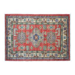 1800GetARug - Oriental Rug Kazak Hand Knotted Rug Sh11157 - About Tribal & Geometric