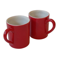 Gorky Gonzalez Mug Gift Set - The right mug can turn your daily coffee ritual into a special moment to savor. Consider this cheerful set, designed by renowned Mexican artisan Gorky Gonzalez — sturdy and simply stylish, it will make your every morning memorable.