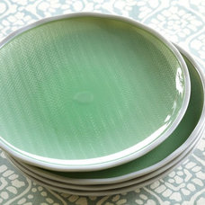 Contemporary Salad And Dessert Plates by Pottery Barn