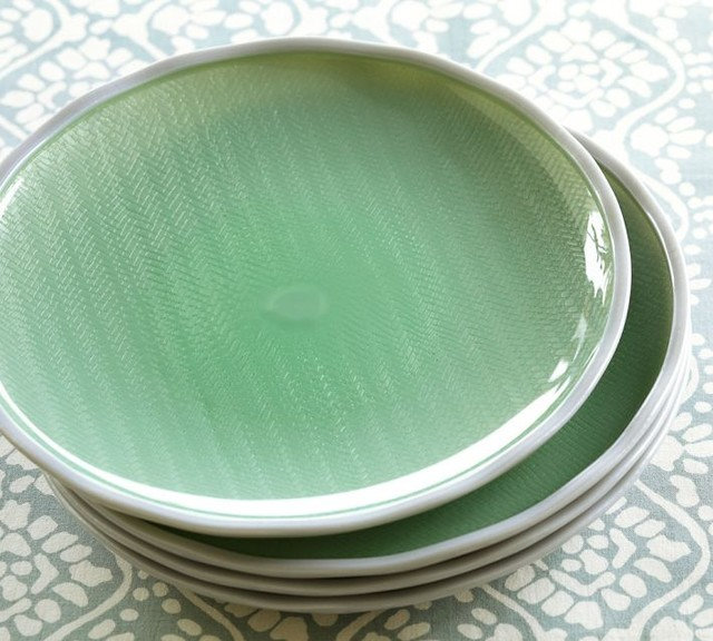 Contemporary Plates by Pottery Barn