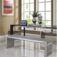 Modern Dining Benches by LexMod