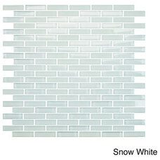 Tile EmryTile Vetro Staggered Brick Glass 12x12 Wall Tile Sheets (Pack of 10)