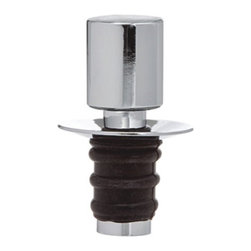 Franmara - Stainless Steel Pour 'N Seal Bottle Stopper/Pourer with Rubber Base - This gorgeous Stainless Steel Pour 'N Seal Bottle Stopper/Pourer with Rubber Base has the finest details and highest quality you will find anywhere! Stainless Steel Pour 'N Seal Bottle Stopper/Pourer with Rubber Base is truly remarkable.