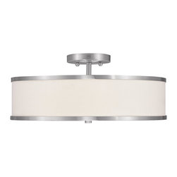 Livex Lighting - Livex Lighting 6352-91 Ceiling Light/Flush Mount Light - Livex Lighting 6352-91 Ceiling Light/Flush Mount Light