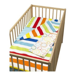 Sirpa Cowell - VITAMINER RAND 4-piece crib bedding set - 4-piece crib bedding set, multicolor