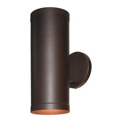 Access Lighting - Access Lighting 20364 2 Light Ambient Lighting Outdoor Wall Sconce from the Pose - Access Lighting 20364 2 Light Ambient Lighting Outdoor Wall SconceFrom the Poseidon Collection, this two light outdoor wall sconce has a sleek, contemporary look, and is suitable for wet locations.Features:
