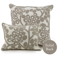 Oilo Pillow Taupe Modern Berries
