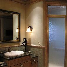 Mediterranean Bathroom by Claudio Fornaro Interiors
