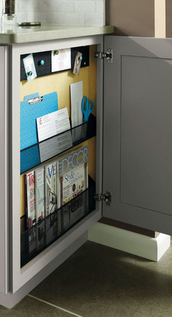 Base Message Center Cabinet - Diamond Cabinetry -