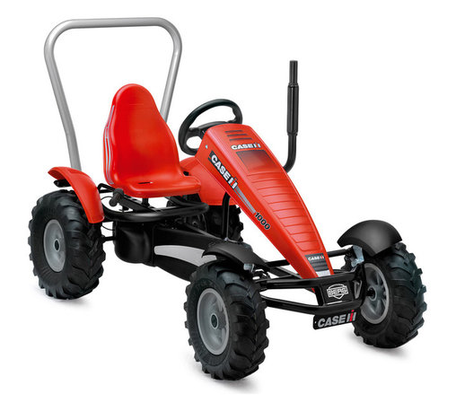 """BERG - BERG New Holland BF-3 Pedal Kart - This tractor pedal kart is an """"in the dirt"""" kind of toy!  Licensed by Case International Harvester, it's a tractor for those who only like the red tractor.  I remember the one that grandpa had!"""