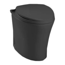 Toto - Toto CT794EF#51 Ebony Eco Nexus Toilet Bowl Only, 1.28 GPF ADA - Utilizing an oval-shaped, flared design and a sleek, simplistic style, the Nexus line is a sophisticated addition to any decor.