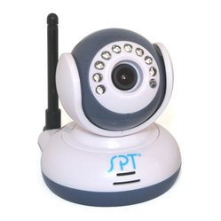Sunpentown - 2.4GHz Wireless Digital Baby Monitor Kit Additional Camera - Additional camera for use with SM-1024K receiver.