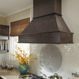 Kitchen Craft Wood Hood - One of several beautiful options, our Wood Hoods will make a dramatic statement in your kitchen.