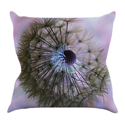 "Kess InHouse - Alison Coxon ""Dandelion Clock"" Throw Pillow (20"" x 20"") - Rest among the art you love. Transform your hang out room into a hip gallery, that's also comfortable. With this pillow you can create an environment that reflects your unique style. It's amazing what a throw pillow can do to complete a room. (Kess InHouse is not responsible for pillow fighting that may occur as the result of creative stimulation)."