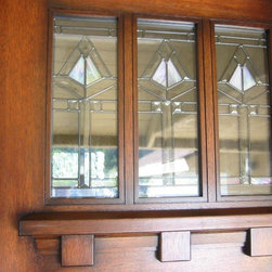 Entry Doors - Craftsman Style -