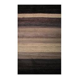 """LA Rugs - Solid/Striped Palazzo 5'x7'3"""" Rectangle Multi Color Area Rug - The Palazzo area rug Collection offers an affordable assortment of Solid/Striped stylings. Palazzo features a blend of natural Multi Color color. Machine Made of 100% Polypropylene Pile the Palazzo Collection is an intriguing compliment to any decor."""