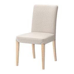 IKEA of Sweden - HENRIKSDAL Chair - Chair, birch, Linneryd natural