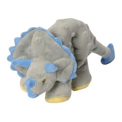 Go Dog - Go Dog Frills The Triceratops Dinosaur Dog Toy with Chew Guard - 770795 - Shop for Dog Toys from Hayneedle.com! You can try explaining to your pooch that the triceratops is a non-threatening herbivore but that won't change how much they love tacking down the GoDog Frills The Triceratops Dinosaur Dog Toy with Chew Guard. Built with Chew Guard technology this plush dino toy features a double-stitched design that is made to hold together during even the most intense play. The crinkly tail and internal squeaker will keep them hunting for this durable toy for years to come. Offered in a range of sizes.