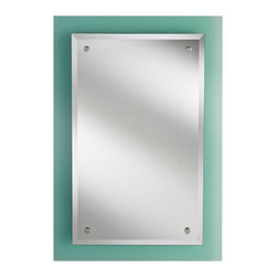 Feiss - Feiss MR1192KG  Khola Glass Mirror - Finish: Khola Glass
