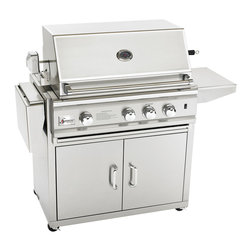 "Summerset - 32"" TRLD Stainless Steel Gas Grill Cart - Stainless Steel Construction"