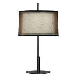 Robert Abbey - Saturnia Accent Lamp, Bronze - -1 - 60W Max.