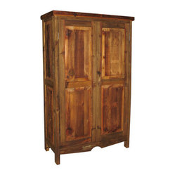 Old Wood Pantry Cabinet