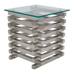 Stacked Side Table