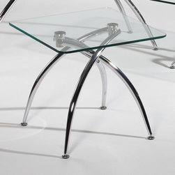 Chintaly Imports - Elaine Lamp Table - Features: