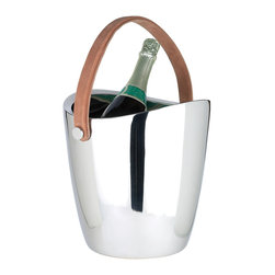 Riado - Boca Champagne Cooler - Our products are handcrafted using high quality materials. Slight variations and imperfections are expected and are the inherent beauty of these items.
