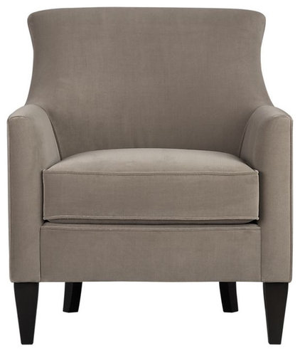 traditional armchairs by Crate&Barrel