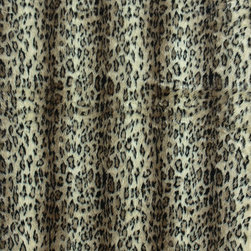 "Loloi - Loloi Danso DA-02 (Cheetah) 5' x 7'6"" Rug - The Danso Collection is a soft, luxurious, faux fur line in both rich solids and animal prints. They add a touch of whimsy to your decor."