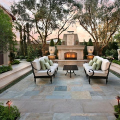 eclectic landscape by AMS Landscape Design Studios, Inc.