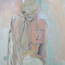 Contemporary Artwork AKT on Canvas