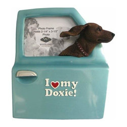 WL - I Love My Doxie Inscription Photo Frame with Dog Head Out Car Window - This gorgeous I Love My Doxie Inscription Photo Frame with Dog Head Out Car Window has the finest details and highest quality you will find anywhere! I Love My Doxie Inscription Photo Frame with Dog Head Out Car Window is truly remarkable.