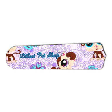 """LPS Littlest Pet Shop Purple 52"""" Ceiling Fan BLADES ONLY - These are beautiful custom blades for your home. This is a set of 5 brand new high quality designer ceiling fan blades. The surface is easy to clean with a damp cloth. These are universal for 52"""" fans. Double the measurement from the center of the fan to the tip of one blade. Several different mediums are used, all are non-toxic. You can be confident that this product will last for years to come. You'll love showing off your new unique blades. These are not licensed products, but are made with licensed materials."""