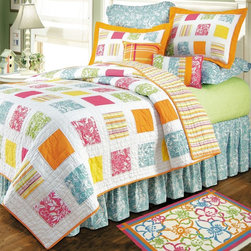 C and F Enterprises - C and F Enterprises Kauai Quilt Multicolor - L89322.6886 - Shop for Quilts from Hayneedle.com! About C & F EnterprisesOriginally established in 1976 as an importer of Chinese porcelain and antiques C & F Enterprises has grown to become a continually innovative and successful home accessories company with a mission to bring artist-designed high quality home decor to homes nationwide.